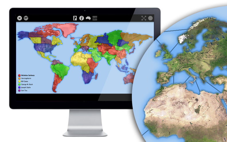 Iconquer guided tour world map maps are scalable to fit any screen and now you can play in full screen mode for the ultimate immersive gaming experience world map gumiabroncs Image collections